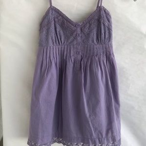 Kirra Light Purple Lavender Lace Tank